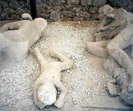 Mount Vesuvius Pompeii Bodies